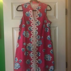 Lily Pulitzer look alike floral Dress